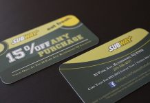 selling discount cards business