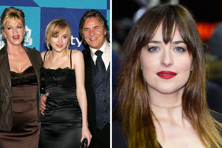 Celebrity Kids All Grown Up Now Dakota-Johnson
