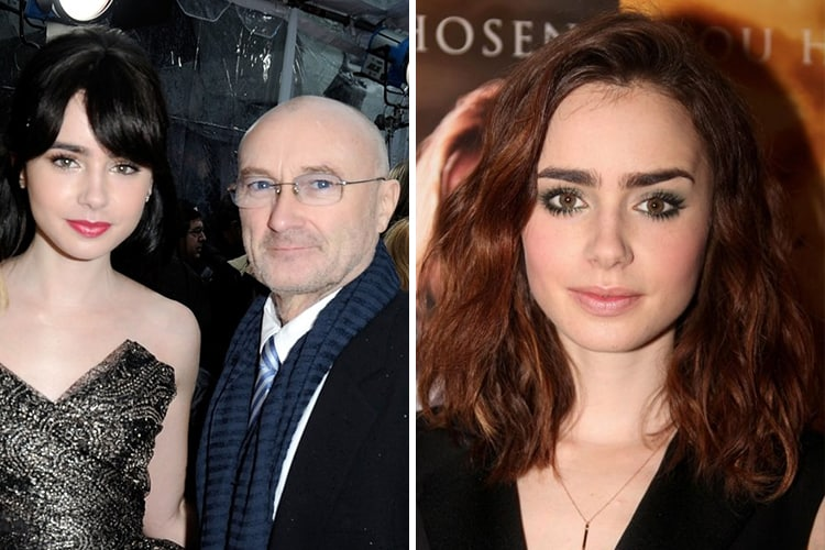 Celebrity Kids All Grown Up Now Lily-Collins