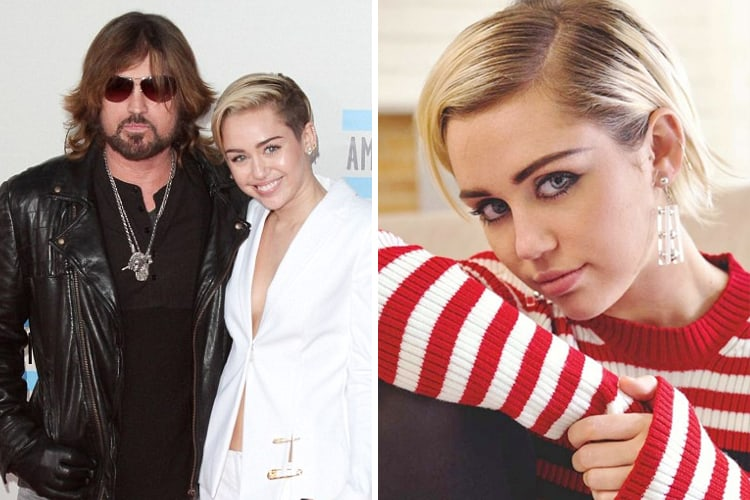Celebrity Kids All Grown Up Now Miley-Cyrus