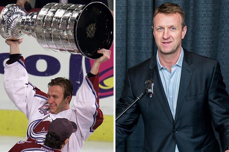 Richest Hockey Players Rob Blake