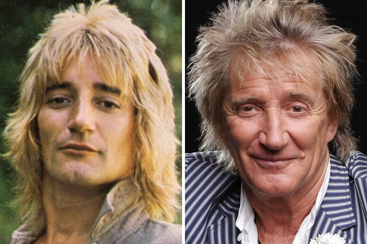 Richest Rock Stars Rod Stewart