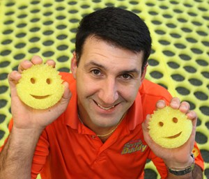 Shark Tank Products Wins: Scrub Daddy Aaron Krause