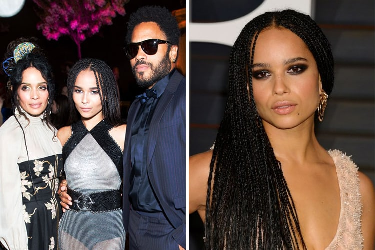 Celebrity Kids All Grown Up Now: Zoe-Kravitz