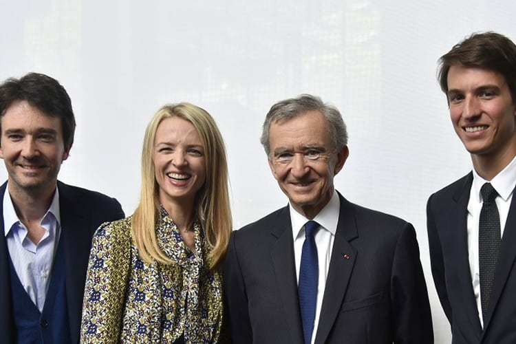 Richest Families in the United States Arnault Family