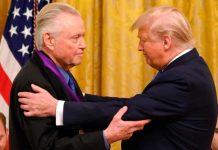 which celebrities support trump: jon voight