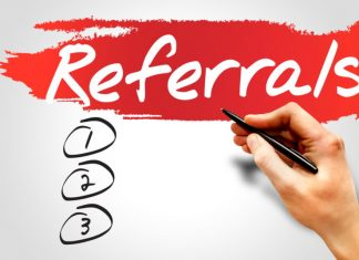 start a referral business