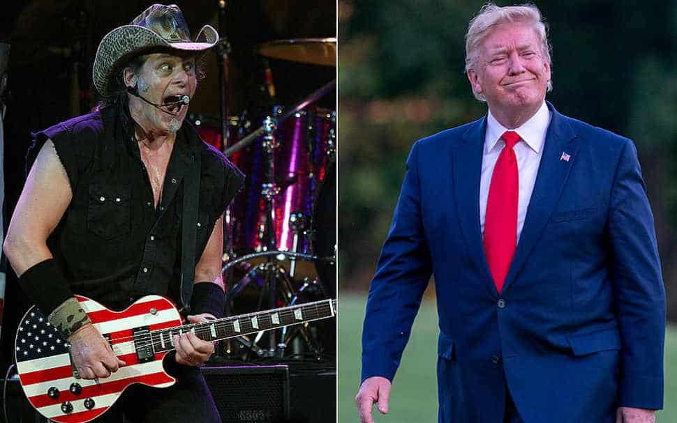 Which celebrities support Trump: ted nugent